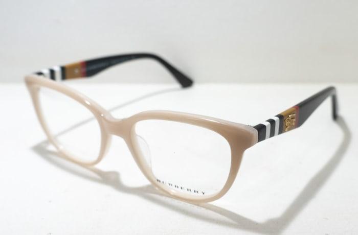 Burberry Full Rim Eyeglass Frames - Beige
