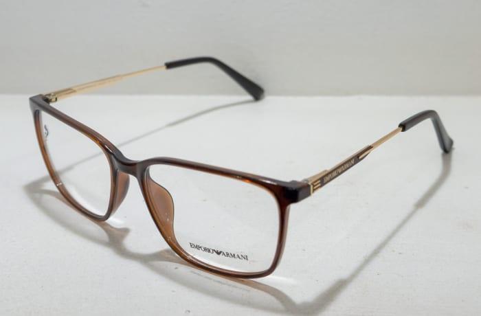 Emporio Armani Eye glasses Frame - Brown and gold