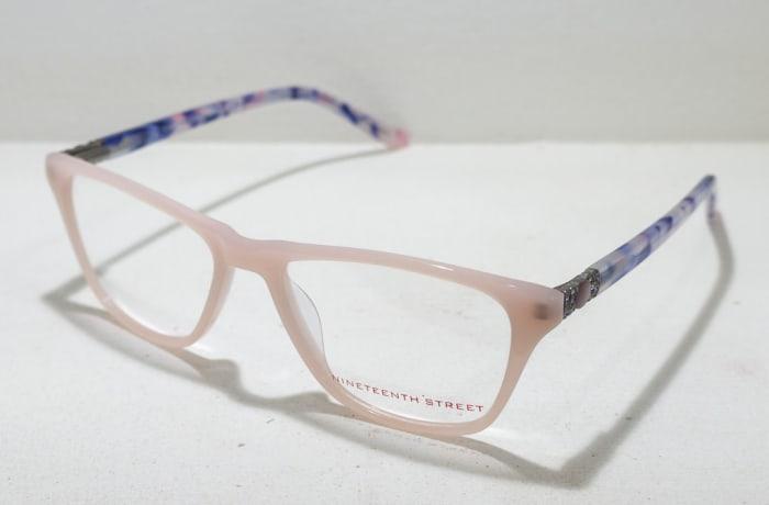 Nineteenth Street Full Rim Eyeglass Frames - Beige