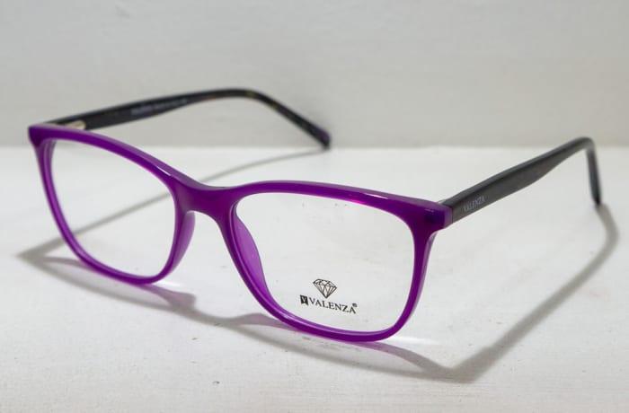 Valenza Full Rim Eyeglass Frames - Purple & Black