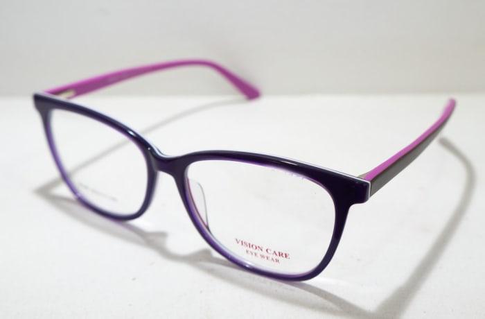 Vision Care  Eye Full Rim Eyeglass Frames  - Black & Purple