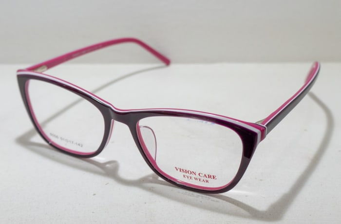 Vision Care  Eye glasses Frame - Grey and pink