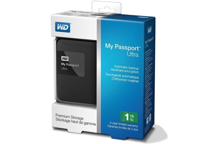 Western Digital My Passport Ultra 1TB Portable External Hard Drive