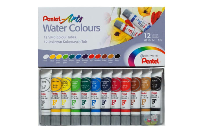 WFRS-12 Pentel Water Colours