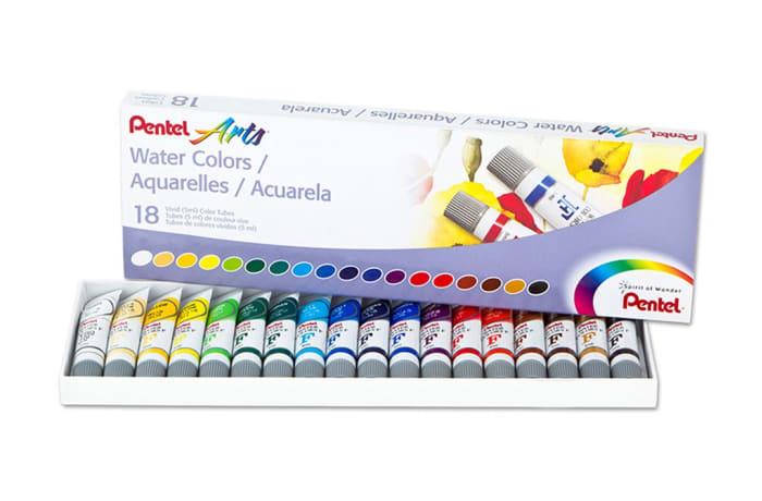 WFRS-18 Pentel Water Colours