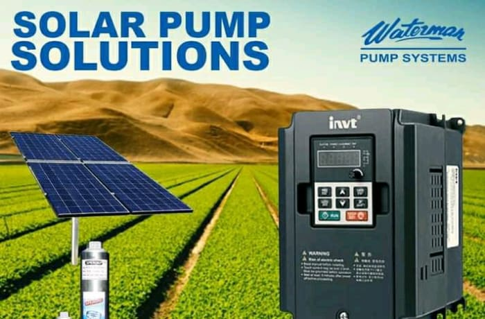 Waterman Pump Systems is your one stop shop for all your Solar Water system solutions image