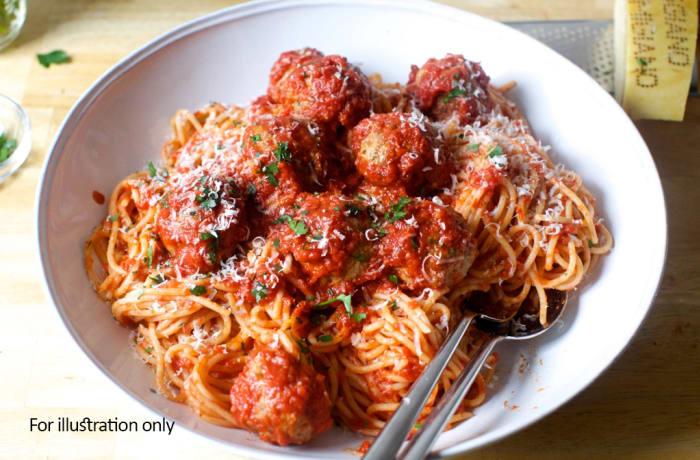 Weavers Nest - Beef - Spaghetti & Meat Balls