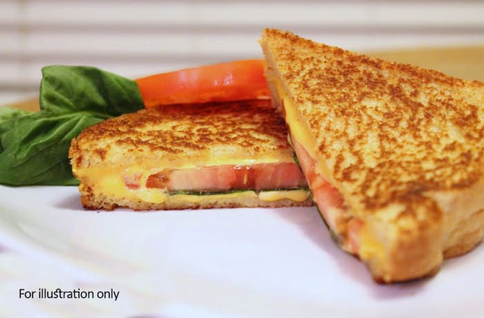Weavers Nest - Toasted Sandwiches - Cheese & Tomato