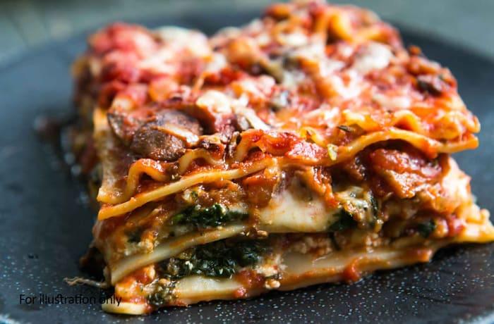 Weavers Nest  - Vegetarian - Vegetable Lasagne
