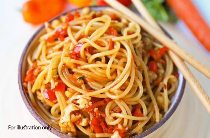 Weavers Nest - Vegetarian - Vegetable Noodles Stir Fry