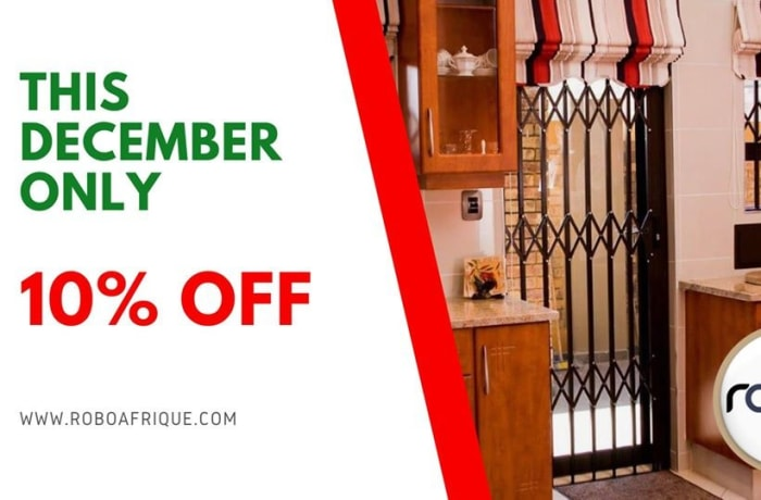 10% Off Robodoors and burglar bars image