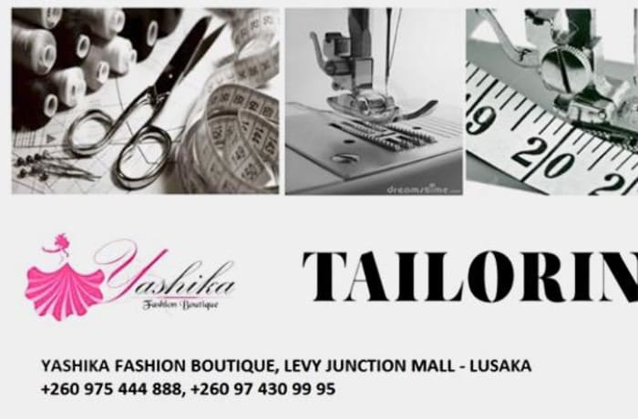 Visit Yashika and have your garments altered, re-styled or repaired image