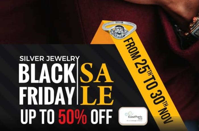 Black Friday sale - Get upto 50% off silver jewelry image