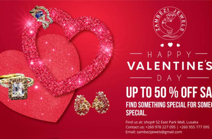This Valentine surprise your loved one with well-crafted jewellery from Zambezi Jewels image