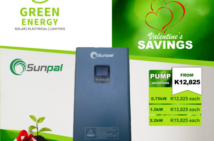 Sunpal pump inverters on special offer image