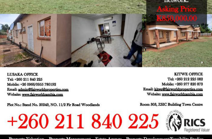 Flats for sale in Solwezi image