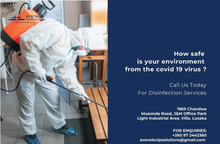 COVID-19 disinfection services image