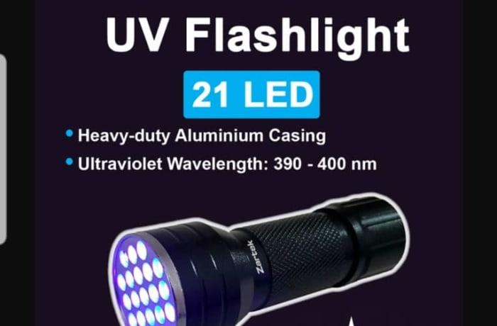 UV Flashlight 21 LED image