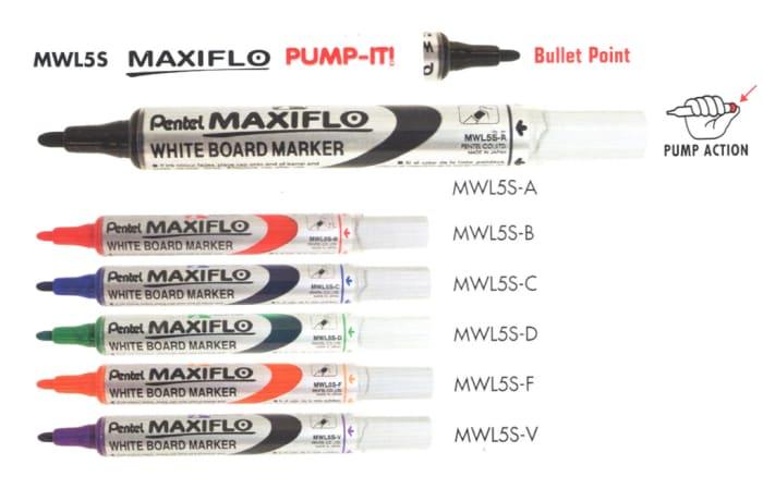 White Board Markers - MWL5S White Board Marker Bullet Point