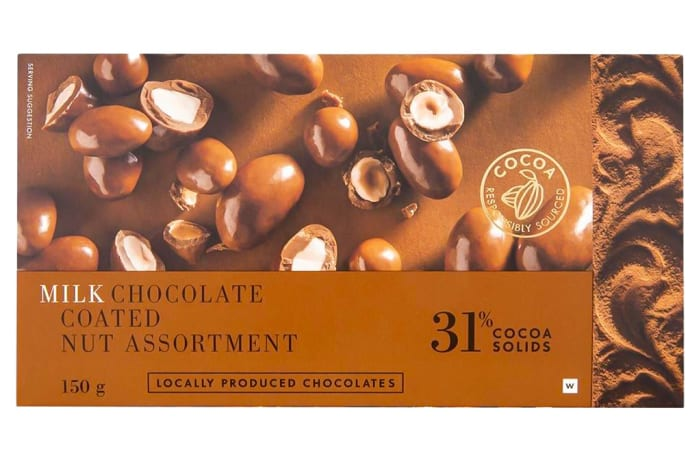 Woolworths Milk Chocolate Coated Nuts