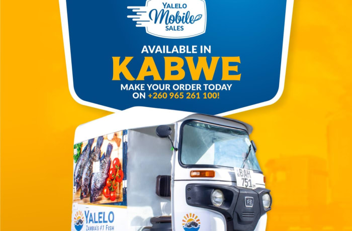 Kabwe!!! Mobile deliveries are now available!! image