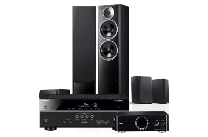 Yamaha 5.1 channel home theater audio home speaker amplifier set - NS-71
