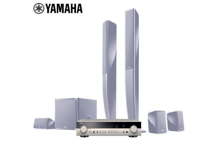 Yamaha  5.1 home theater audio combination system - NS-PA40+RX-S602