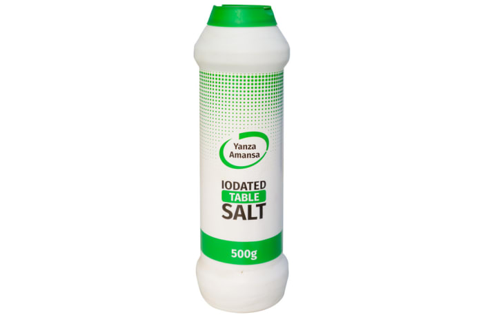 Yanza Amansa Iodated Table Salt 500g