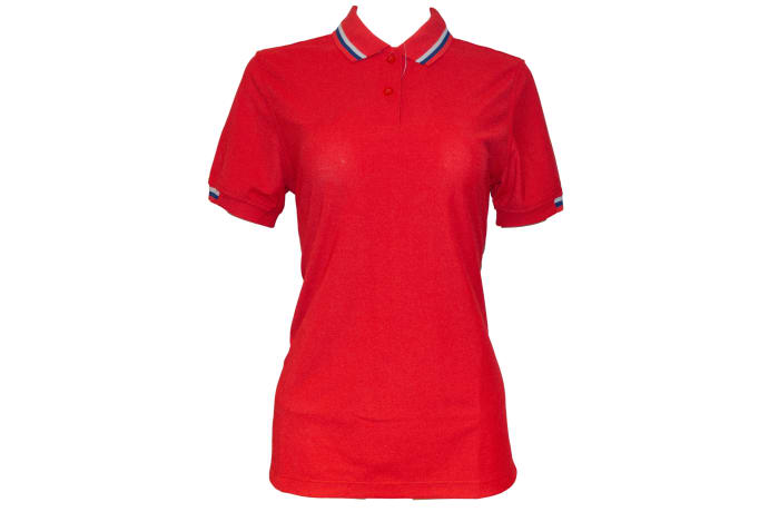 Poligan Polo Top red