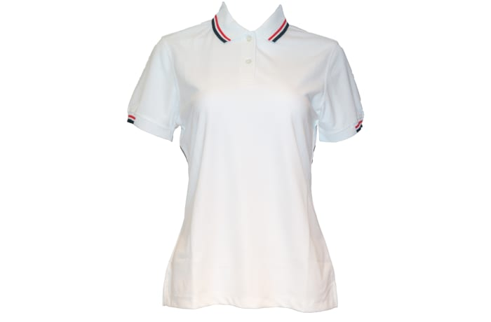 Poligan Polo Top white
