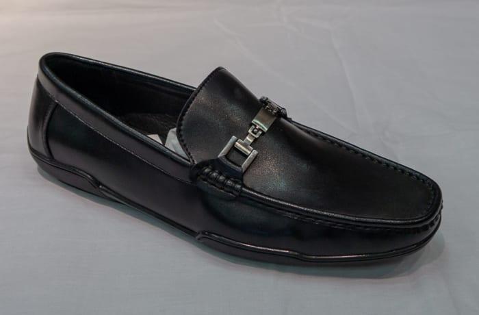 Casual Shoe Moccasins - Men's black