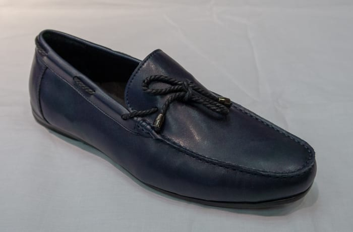 Casual Shoe Moccasins - Men's blue