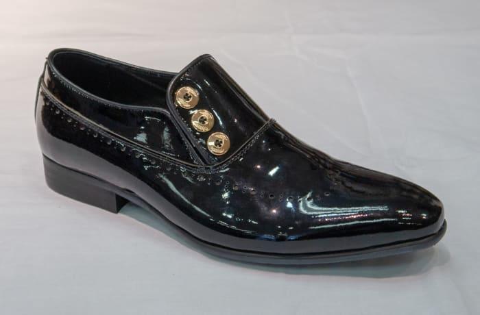 Glass Shoe Nobby Cavalli - Men's black no lace