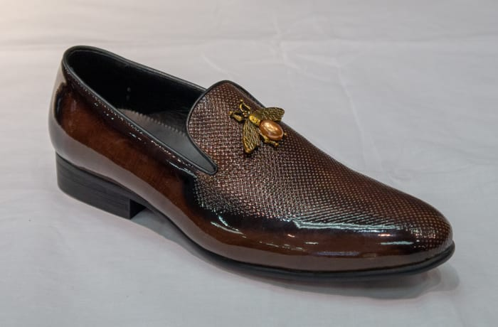 Glass Shoe Nobby Cavalli - Men's dark brown no lace