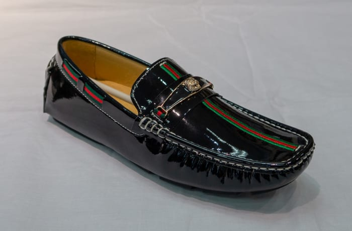 Gucci Moccasin - Women's shiny black