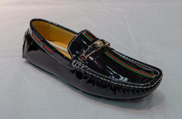 Gucci Moccasin - Women's shiny black