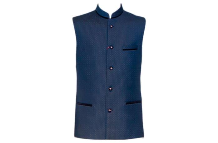 Modi Waist Coat Blue