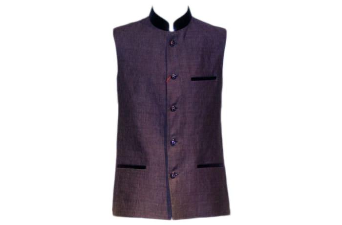 Waist Coat Purple