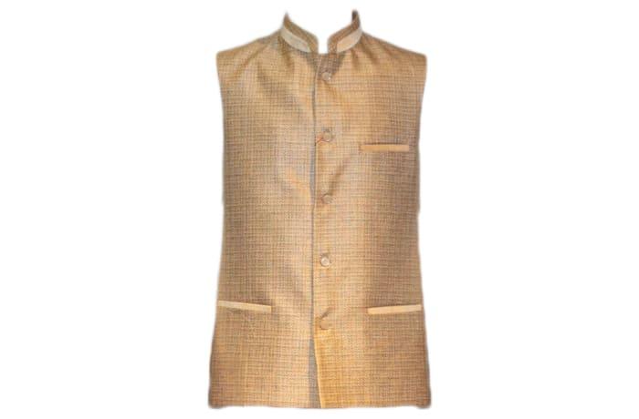 Modi Waist Coat Tan