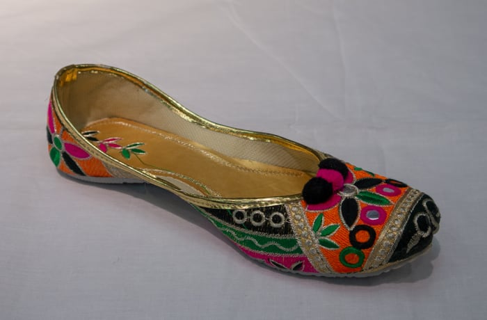 Mojari Shoes - Women's colourful