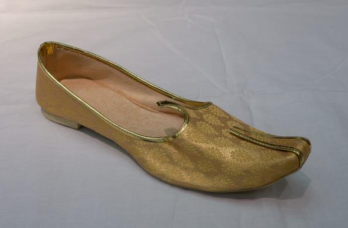 Mojari Shoes - Women's bright gold