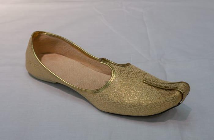 Mojari Shoes - Women's gold