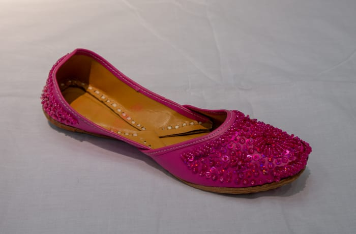 Mojari Shoes - Women's pink