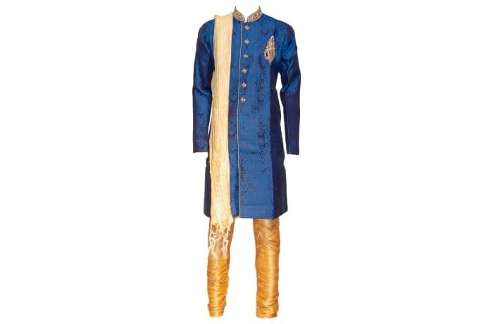 Sherwani Outfit Blue