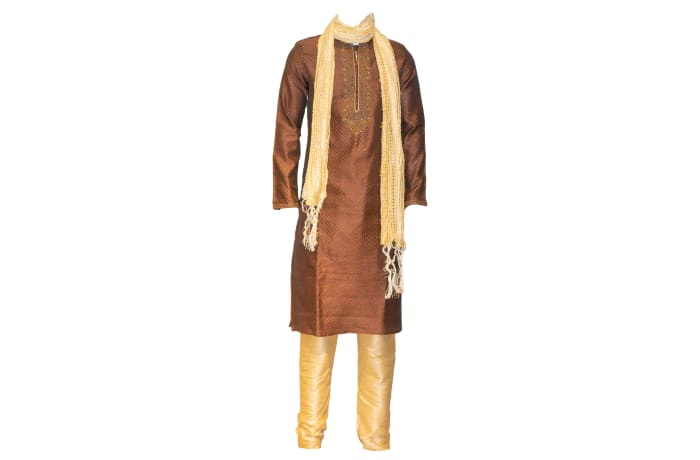 Sherwani Outfit Brown