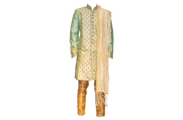 Sherwani Outfit Green