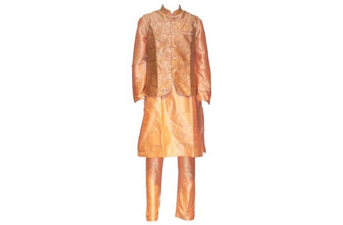 Sherwani Outfit Peach
