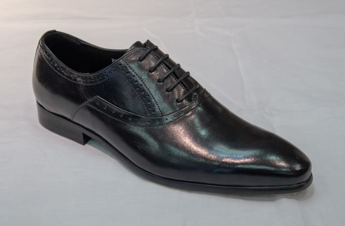 Smart Shoe Nobby Cavalli - Men's black smooth