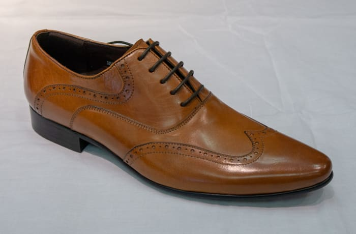 Smart Shoe Nobby Cavalli - Men's tan brown
