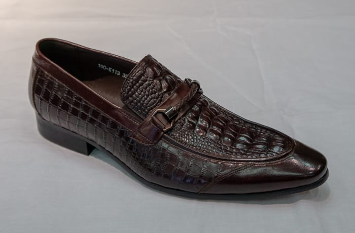 Smart Shoe Nobby Cavalli -  Men's charcoal brown
